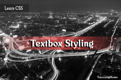 Different CSS3 Text Box styling